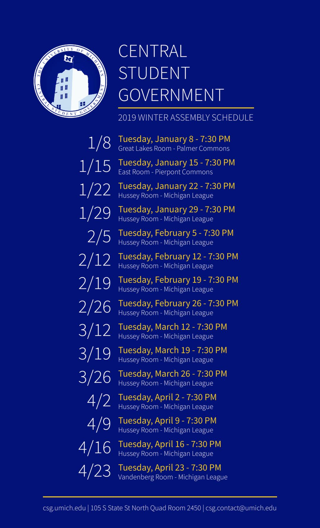 CSG_assembly schedule